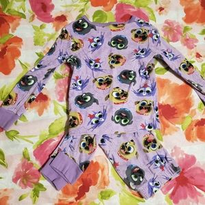 Disney purple puppy dog Pals pajama set